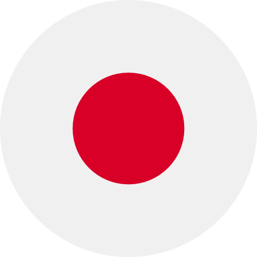 round flag representing a blackcurrant country association in the IBA : Japan