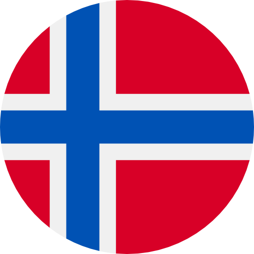 round flag representing a blackcurrant country association in the IBA : Norway