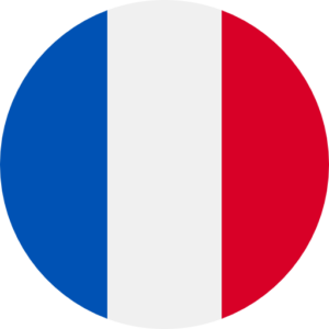 French flag round