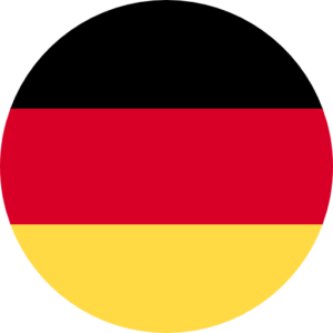 german flag round