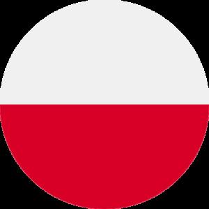 polish flag round