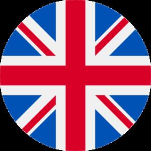 uk flag round