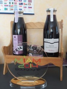 3 products from Nectars de Bourgogne
